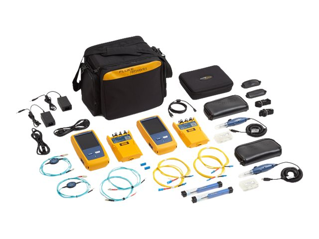 Fluke CertiFiber Pro Quad OLTS w Double Ended Inspection, CFP-100-QI 120