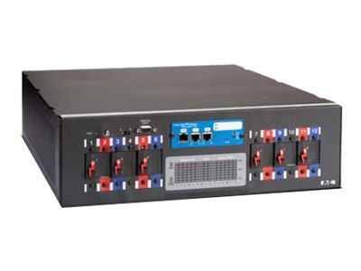 Eaton BladeUPS Rack Power Module 208V (3) L6-30R (2) L21-20R Outlets, 8ft. Cord, Y03111051100000, 12810799, Power Distribution Units