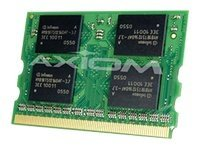 Axiom 256MB PC2700 DDR SDRAM Micro-DIMM for LifeBook P Series P7010D, FPCEM125AP-AX, 15153536, Memory