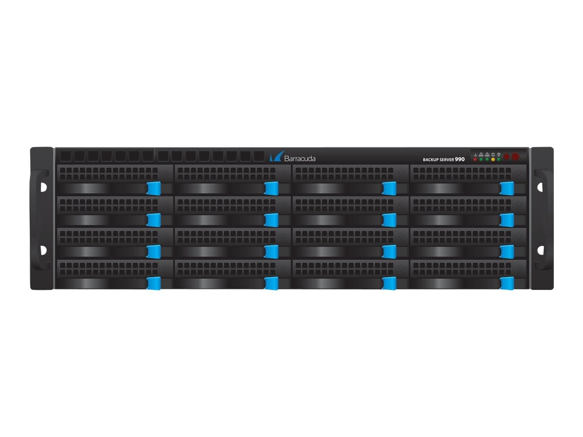 Barracuda Barracuda Backup Server 990 10 GBE w FBR NIC 3Yr Energize Update + Instant Replacement, BBS991A33, 19554062, Network Routers