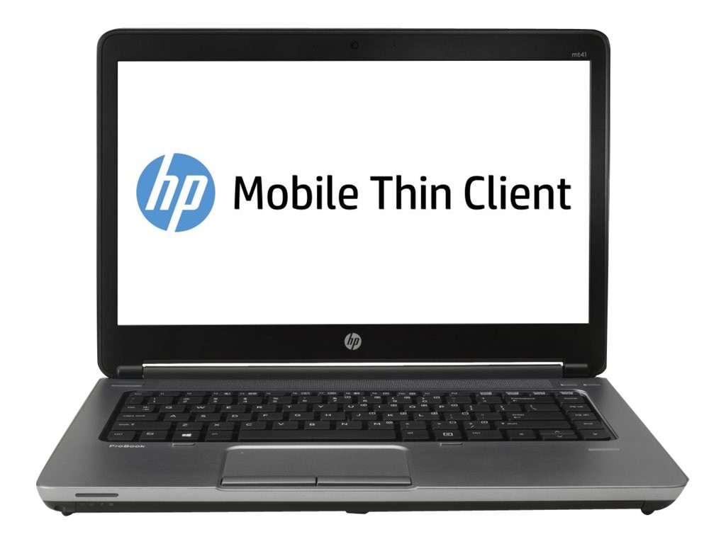 HP Smart Buy mt41 Mobile Thin Client A4-4300M 2.5GHz 4GB RAM 16GB SSD DVD-ROM abgn BT WC 14 HD WES7E, E3T74UT#ABA