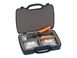 Black Box DELUXE RJ-11 MODULAR PLUG KIT, FTM600-R2, 32875231, Network Tools & Toolkits