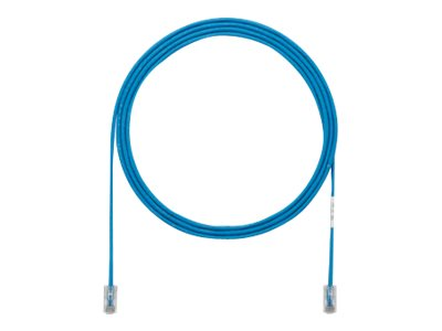Panduit Cat5E Copper SD Cable Patch Cord, Blue, 1ft