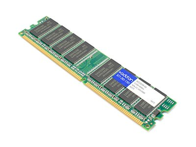 ACP-EP 512MB PC3200 184-pin DDR SDRAM DIMM for Select Dimension, Optiplex, Precision Models, A0119249-AA, 18198836, Memory