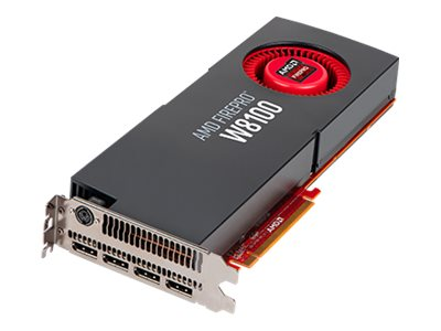 Sapphire AMD FirePro W8100 PCIe 3.0 x16 Graphics Card, 8GB GDDR5, 100-505738, 17607520, Graphics/Video Accelerators