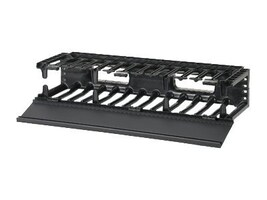 Panduit Horizontal Cable Manager, NMF2, 14027036, Rack Cable Management