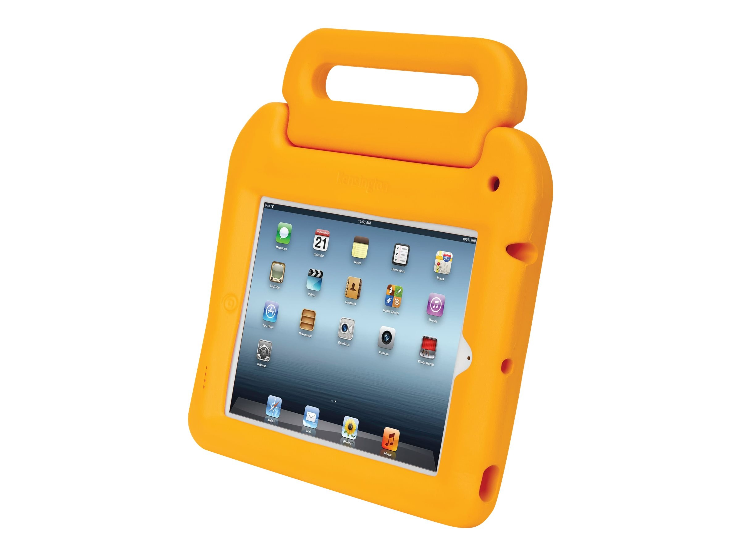 Kensington Safegrip Security Case without Lock for iPad, Yellow