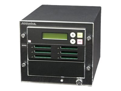 Addonics 1:5 CompactFlash Duplicator, CFASTD5, 16924110, Storage Drive & Media Duplicators