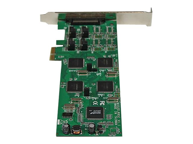 StarTech.com 8 Port PCI Express (PCIe) RS-232 422 485 Serial Card, PEX8S232485