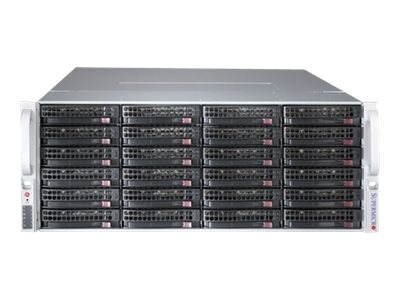 Supermicro Chassis, SuperChassis 847BE2C 4U RM (2x)Intel AMD Family 36x3.5 HS Bays 7xPCIe 2x1280W, CSE-847BE2C-R1K28LPB