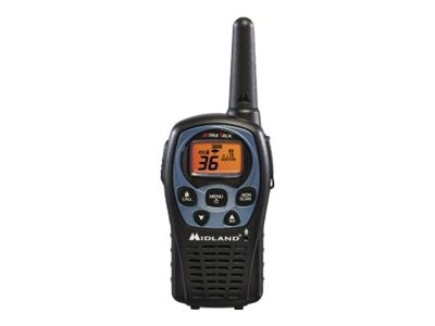 Midland Radio GMRS 36-Channel 2-Way Radio Value Pack - Up to 26 Miles