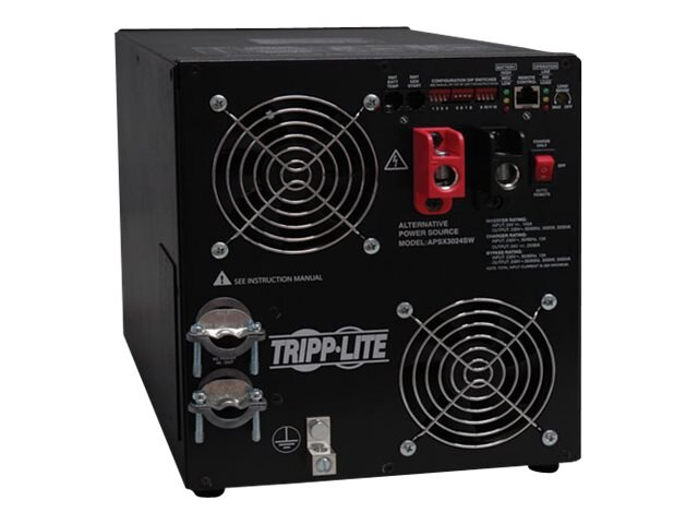 Tripp Lite PowerVerter APS X Series 3000W Inverter, International, 24VDC 230VAC HW Input, 230VAC HW Output, APSX3024SW, 15792063, Power Converters