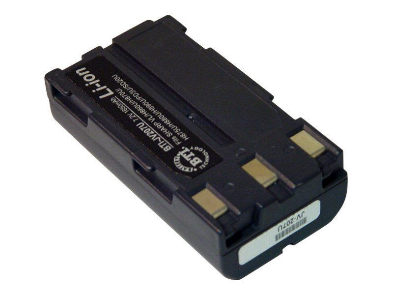 BTI Battery, Lithium-Ion, 7.4V, 1800mAh, for JVC GR-DVF11, GR-DVF21, GR-DVF21U, GR-DV, JV207U, 7927554, Batteries - Camera