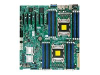 Supermicro Motherboard, EATX DP C602 16 DIMMS-LSI 2208 I350 Dual GBIT, X9DRH-7F-O, 13749475, Motherboards