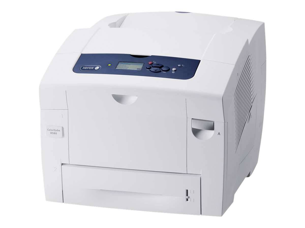 Xerox ColorQube 8580 DNM Metered Color Printer, 8580/DNM, 18368575, Printers - Laser & LED (color)