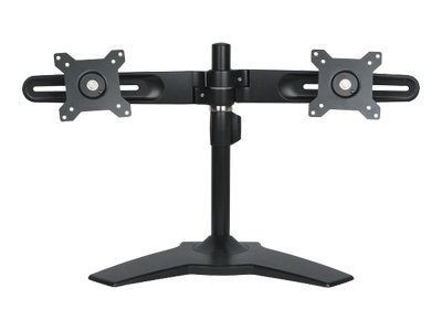 Open Box Planar Dual Monitor Stand, Black, 997-5253-00, 31003343, Stands & Mounts - AV