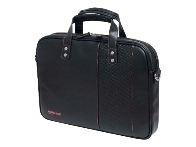 Mobile Edge UB Briefcase, 14.1 PC 13 Mac, Black