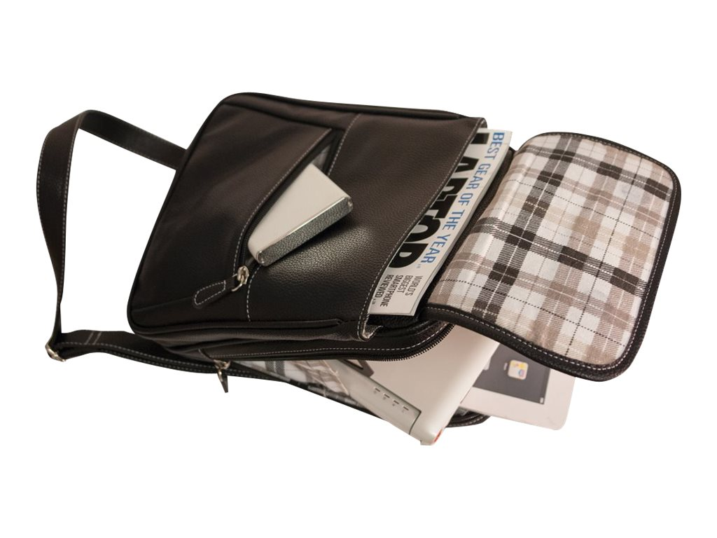 Mobile Edge Crossbody iPad Tablet Tech Messenger 11, MEMTC1, 16956971, Carrying Cases - Tablets & eReaders