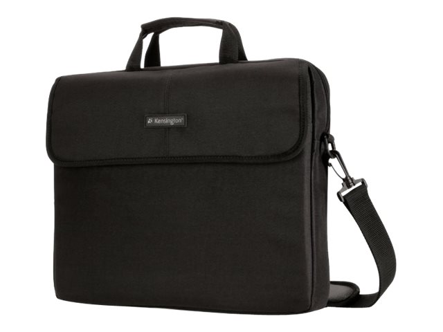 Kensington SP10 Classic Laptop Sleeve for 15.6 Laptops, Black, K62562USB, 15134360, Carrying Cases - Notebook