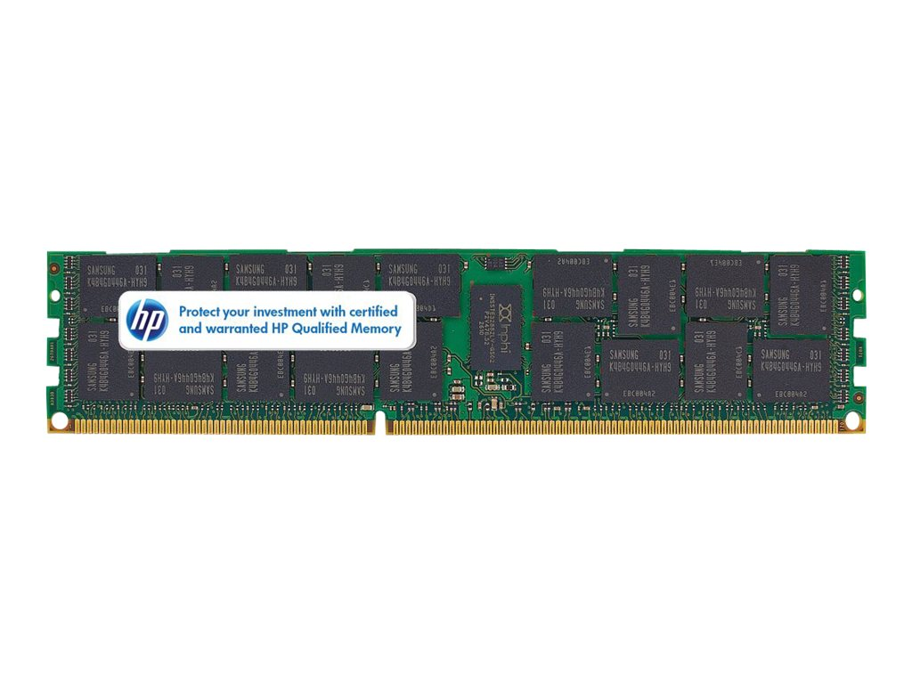 HPE SmartMemory 4GB PC3L-10600R DDR3 SDRAM Memory Module for Select HP Servers, 647893-B21, 13752922, Memory