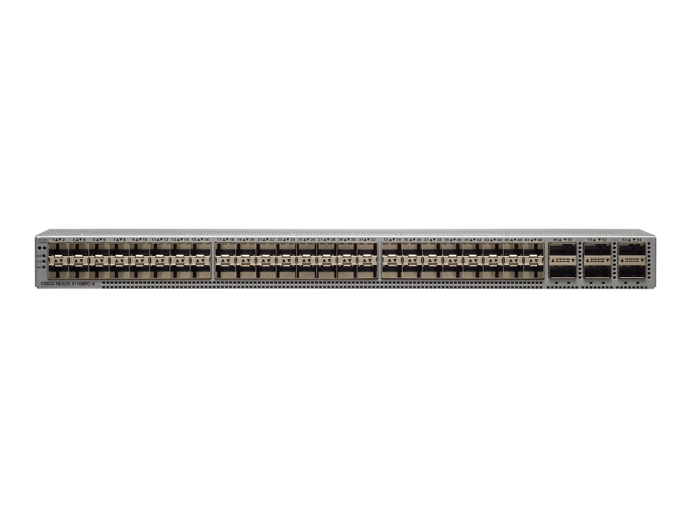 Cisco Nexus 31108-VXLAN 48-Port SFP+ Switch w 6xQSFP28