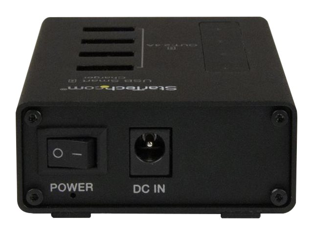 StarTech.com 4-Port Charging Station for USB Devices, ST4CU424