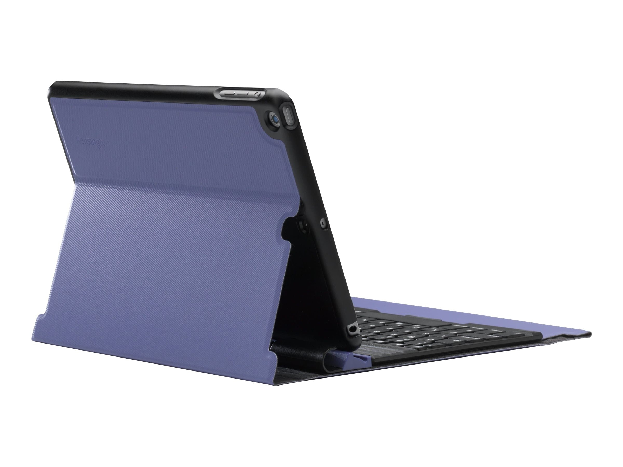 Kensington KeyFolio Exact Thin Folio with Keyboard for iPad Air, Eggplant, K97092US
