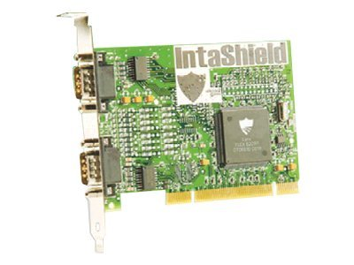 Brainboxes Intashield 2-Port (RS-232) Serial Universal 32-bit PCI Card