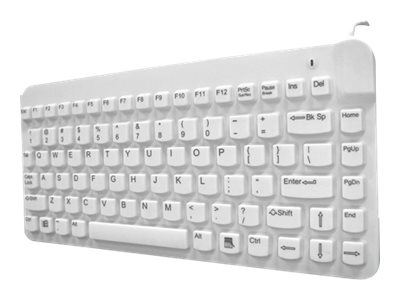 Man & Machine SLIMCOOL LP BACKLIGHT KEYBOARD-WHITE