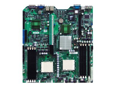 Supermicro Motherboard, HT2000, Dual Opteron, 1000MHz, Max 32GB DDR, 2PICEX8, 2PCIX, 2GBE, SATA, RAID, MBD-H8DSR-I-O, 7177765, Motherboards