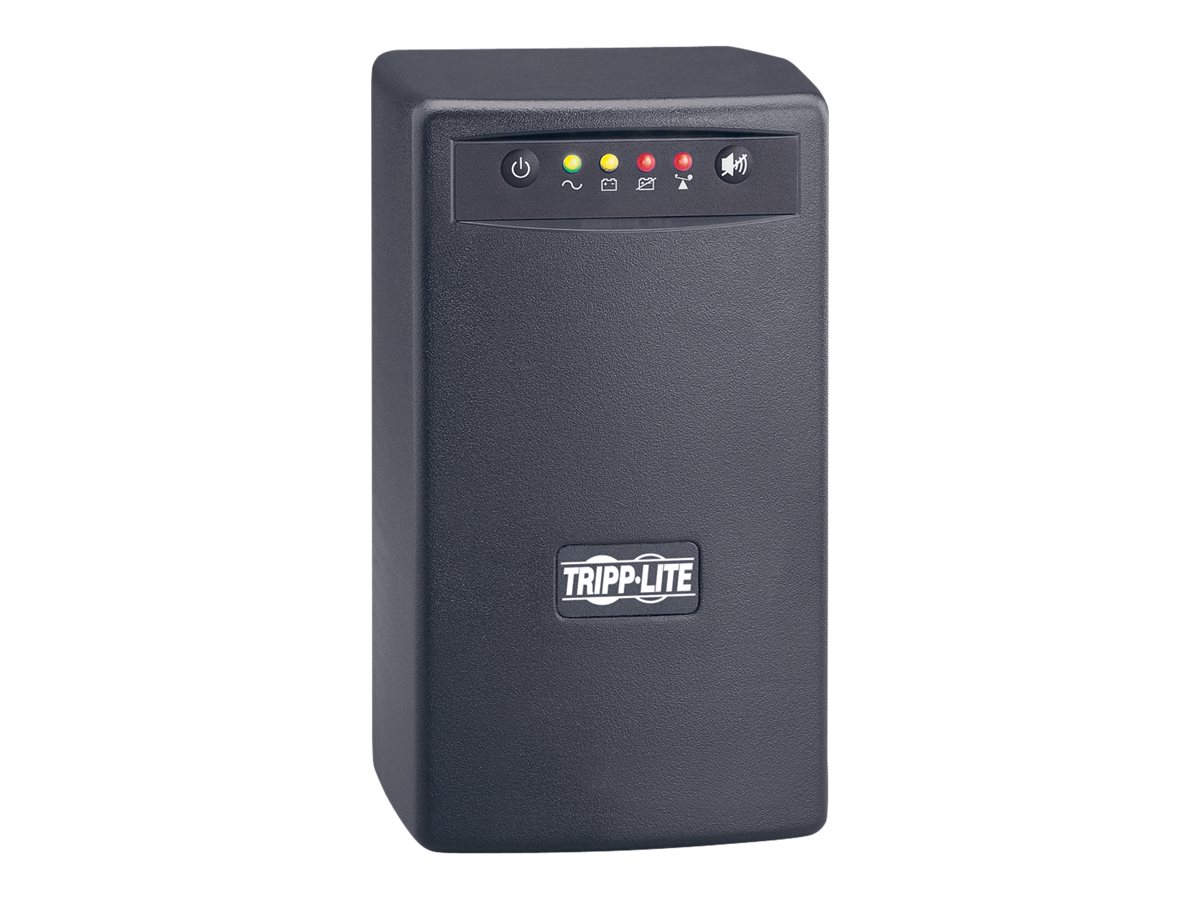 Tripp Lite Smart USB 550VA Tower Line-Interactive UPS (6) Outlet with USB Port, SMART550USB, 362287, Battery Backup/UPS