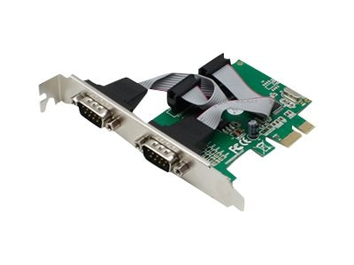 ACP-EP 2-Port RS-232 PCIe NIC, ADD-PCIE-2RS232U9