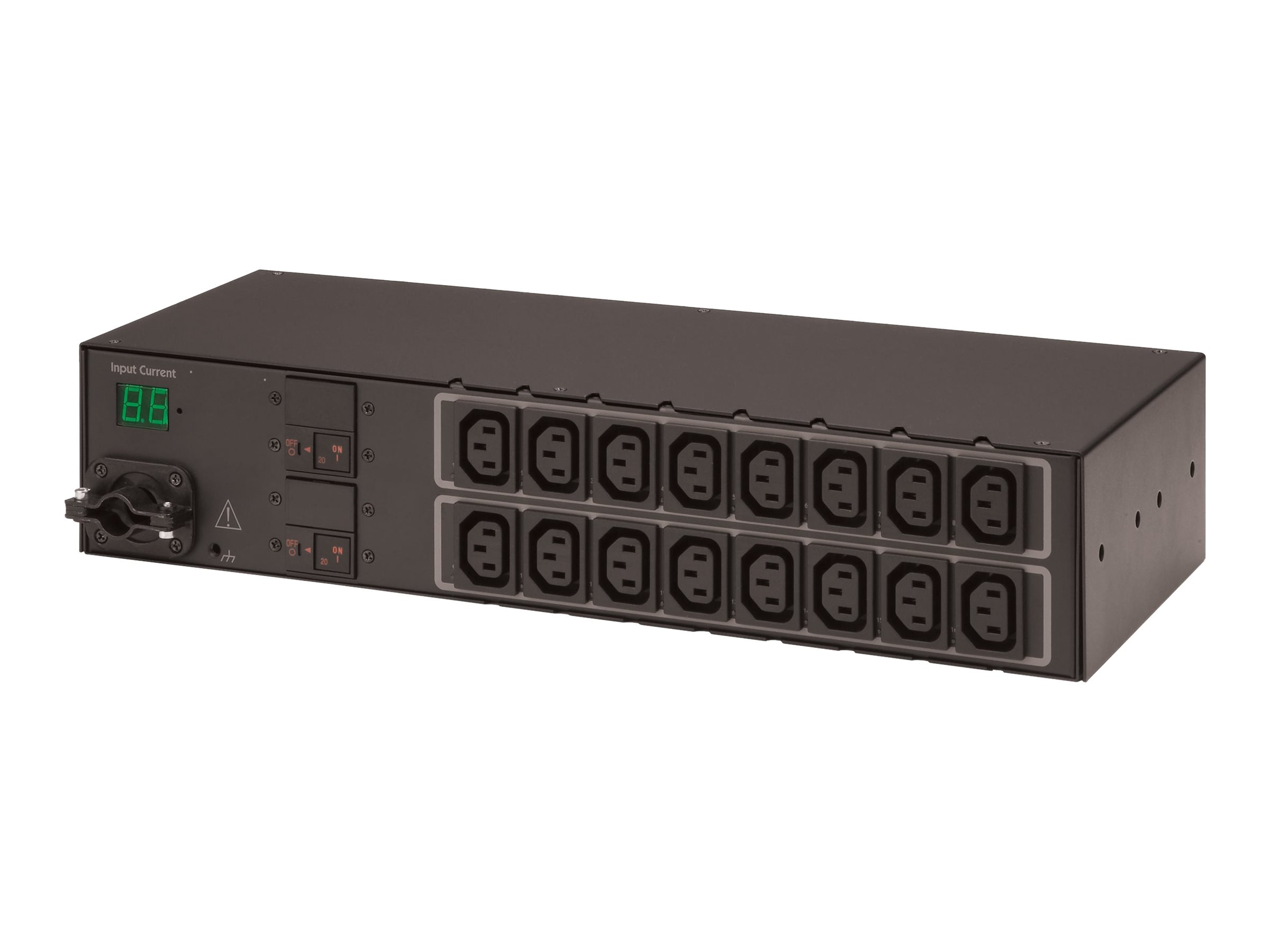 Server Technology Switched CDU, PIPS, 2U, (16) IEC C13 Outlets, CW-16HEK454