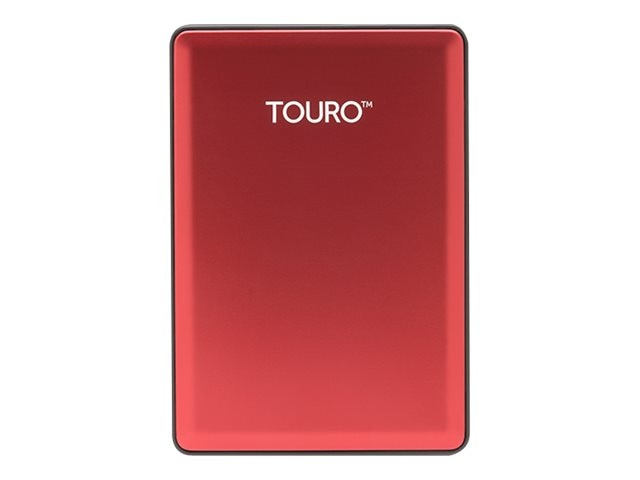 HGST 500GB Touro S USB 3.0 External Hard Drive - Ruby, 0S03782, 23946472, Hard Drives - External