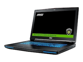 MSI WT72 6QN-245US Core i7-6820HK 2.7GHz 16GB 256GB SSD+1TB BD ac GNIC BT M5500 17.3 FHD W10P, WT72 6QN-245US, 32556804, Workstations - Mobile