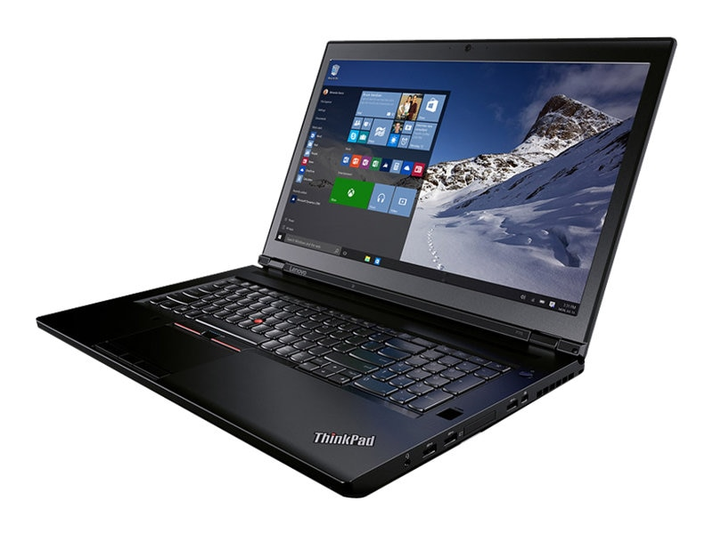 Lenovo TopSeller ThinkPad P70 Core i7-6700HQ 2.6GHz 8GB 500GB DVD ac BT FR WC XR M600M 17.3 FHD W10P64, 20ER002FUS
