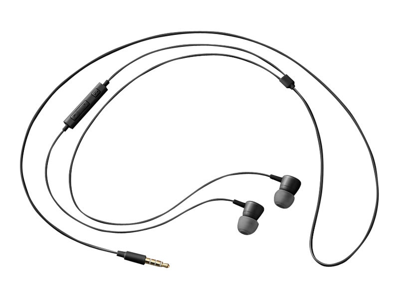 Samsung HS130 Wired Headset - Black, EO-HS1303BEST1, 30947676, Headsets (w/ microphone)