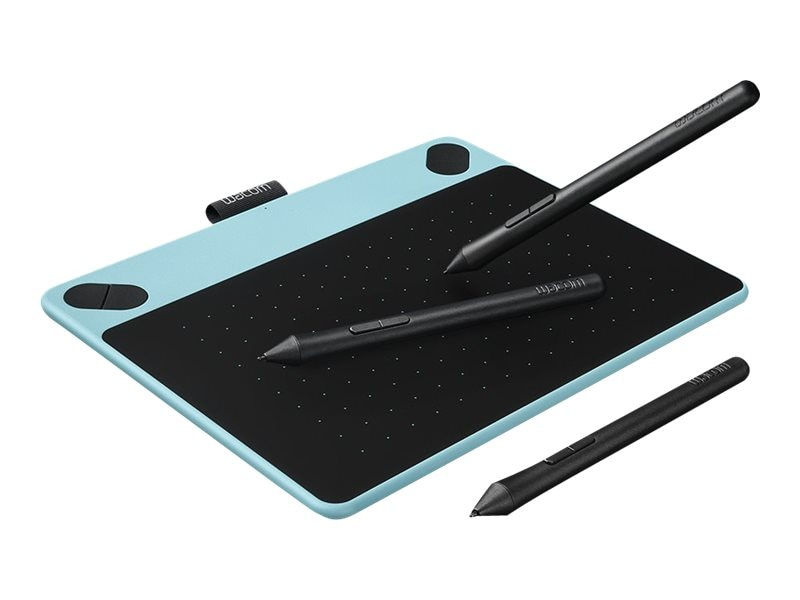Wacom Intuos Comic Pen and Touch Tablet, Small, Blue, CTH490CB