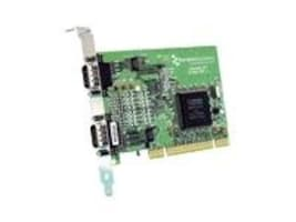 Brainboxes 2-Port RS232 PCI Serial Card with 1 Mega-Baud Data Rate, UC-302, 15251275, Controller Cards & I/O Boards