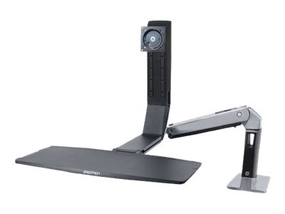 Ergotron WorkFit-A, Single LD Sit-Stand Workstation, 24-313-026