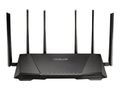 Asus Tri-Band Wireless-AC3200 Gigabit Router, RT-AC3200, 18459688, Wireless Routers