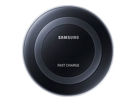 Samsung Fast Charge Wireless Changing Pad, Black Sapphire, EP-PN920TBEGUS, 30947140, Battery Chargers