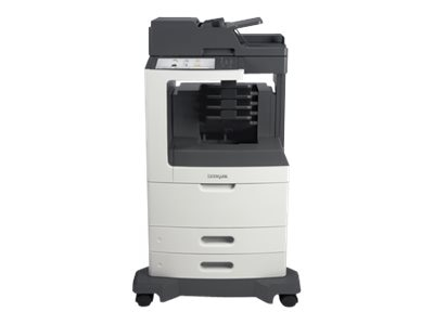Lexmark MX812dme Monochrome Laser Multifunction Printer, 24T7434