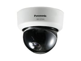 Panasonic Fixed Dome Analog Camera, Indoor, WVCF344, 14667050, Cameras - Security