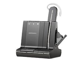 Plantronics W745 UL Talk Time Savi 3-In-1 Convertible Headset, 86507-01, 13068936, Headsets (w/ microphone)