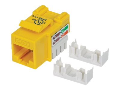 Intellinet Cat5e Keystone Jack, Yellow
