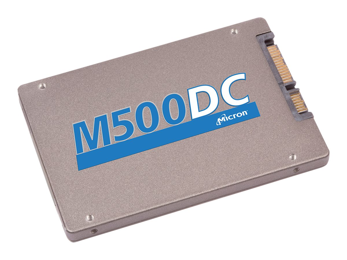 Crucial 800GB M500DC SATA 6Gb s 2.5 Entreprise Solid State Drive, MTFDDAK800MBB-1AE1ZABYY, 17249638, Solid State Drives - Internal
