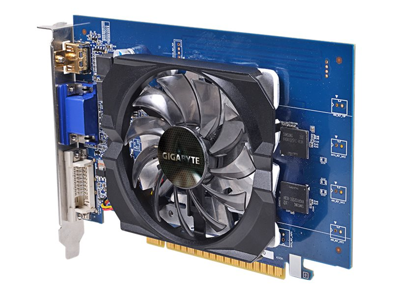 Gigabyte Tech GeForce GT 730 PCIe Graphics Card, 2GB GDDR5