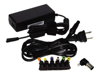 Sparkle Notebook Power Adapter (9) Changeable Output Tips, 100-240VAC Input, 65W, 19V Output, R-FSP065-RAC-R2, 15185861, AC Power Adapters (external)