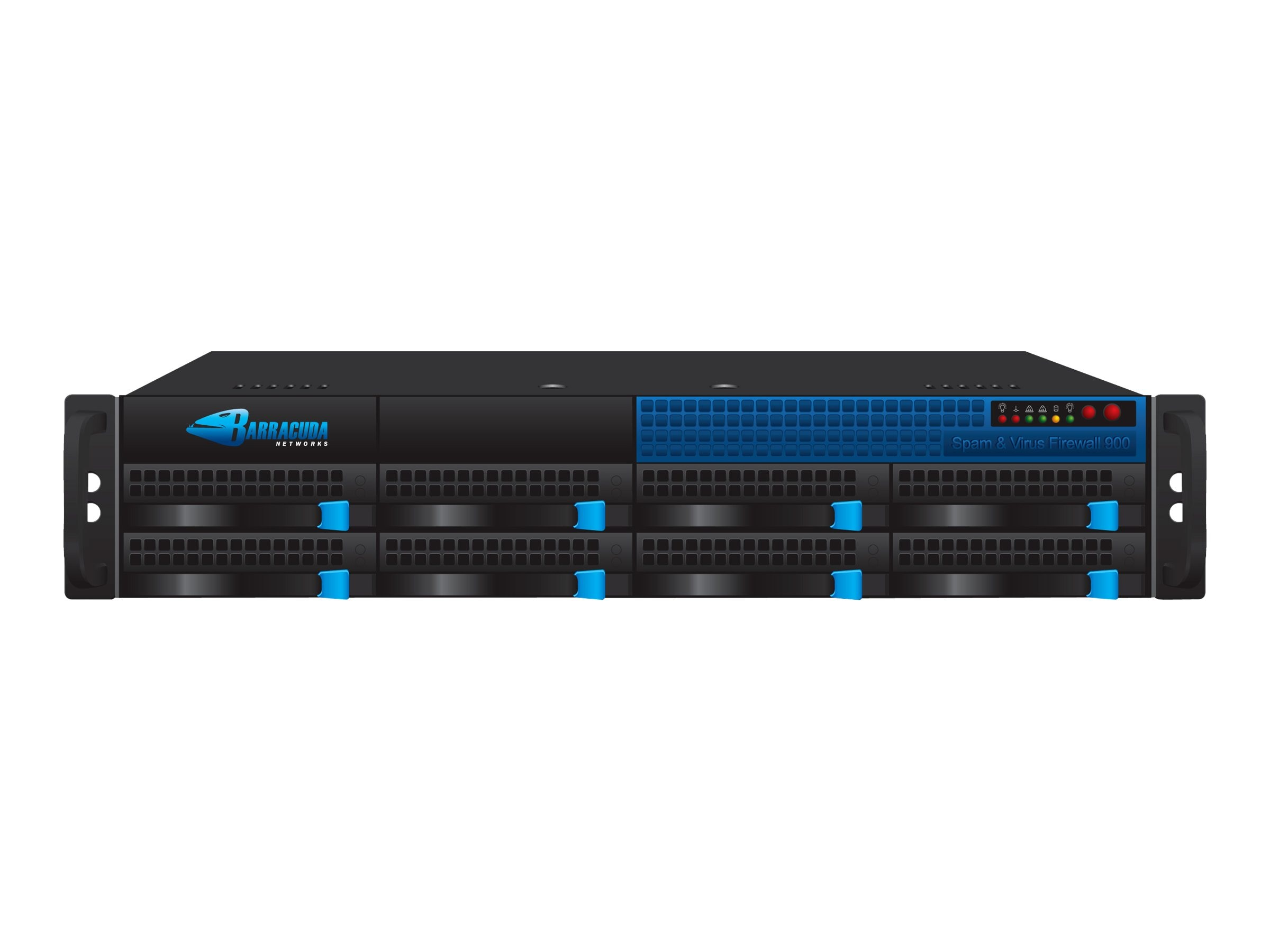 Barracuda Spam & Virus Firewall 900 with 5yr Energize Updates, BSF900A5, 7593742, Network Security Appliances